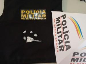 Parte da droga já havia sido entregue a um preso (Foto: Polícia Militar/Divulgação)