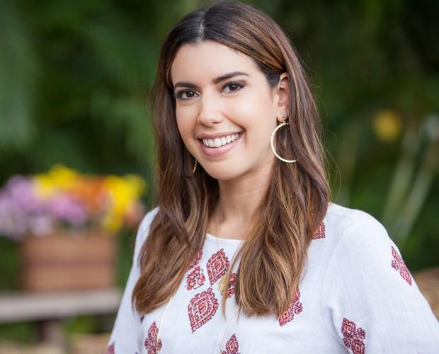 Camila Coutinho dá dicas para customizar look junino (Foto: Fabiano Battaglin/Gshow)