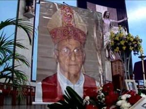 Dom José Foralosso estava internado desde 5 de junho. Após diversas cirurgias, ele não resistiu e morreu na noite desta quarta-feira (22), aos 74 anos, em Marabá (Foto: Reprodução/TV Liberal)