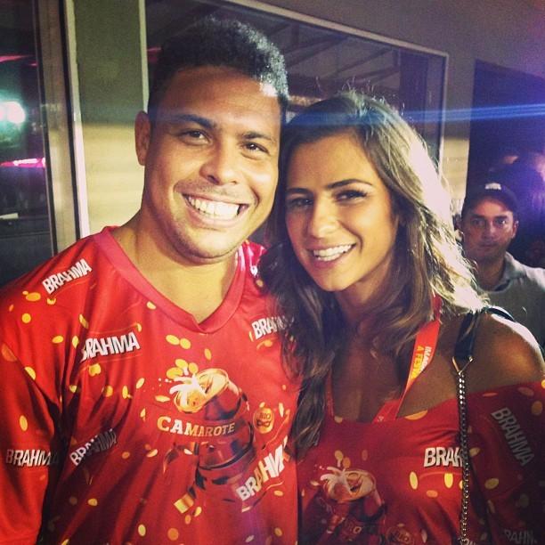 Ronaldo e Paula Moraes (Foto: Reprodução/Instagram)