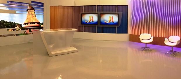 Moinho de Joinville tem destaque no novo estúdio (Foto: Luisa Konescki/RBS TV)