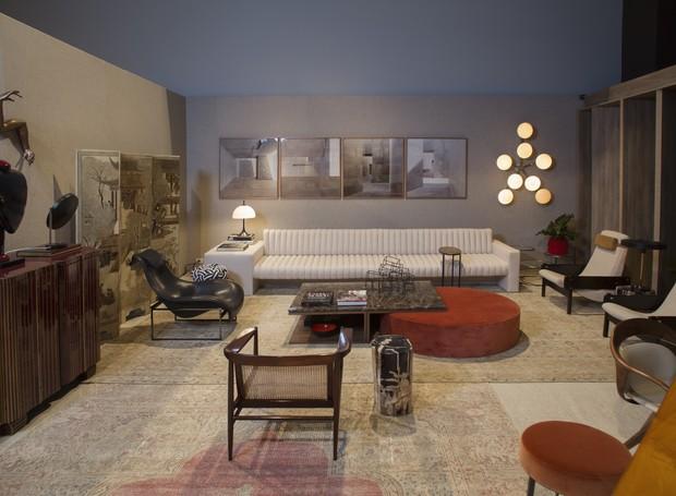 Ambiente de Suite Arquitetos para a mostra Modernos Eternos 2016 (Foto: André Krotz/Divulgação)