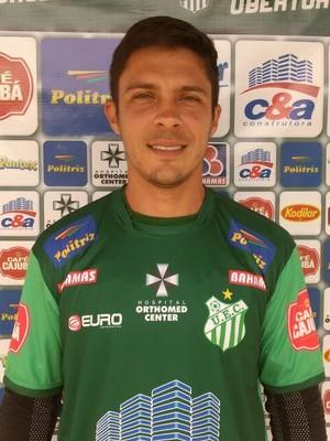 Jefersom Berger, meia, Uberlândia, UEC, Uberlândia Esporte Clube (Foto: UEC/Divulgação)