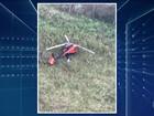 Polícia de SP encontra helicóptero usado em emboscada no Ceará