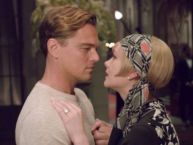Leonardo DiCaprio e Carey Mulligan atuam juntos em 'O grande Gatsby' (Foto: Divulgação)