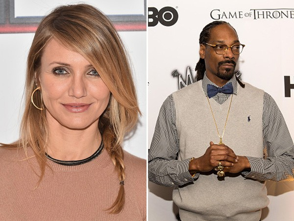 Cameron Diaz e Snoop Dogg fizeram o ensino médio no 'Long Beach Polytechnic'. (Foto: Getty Images)