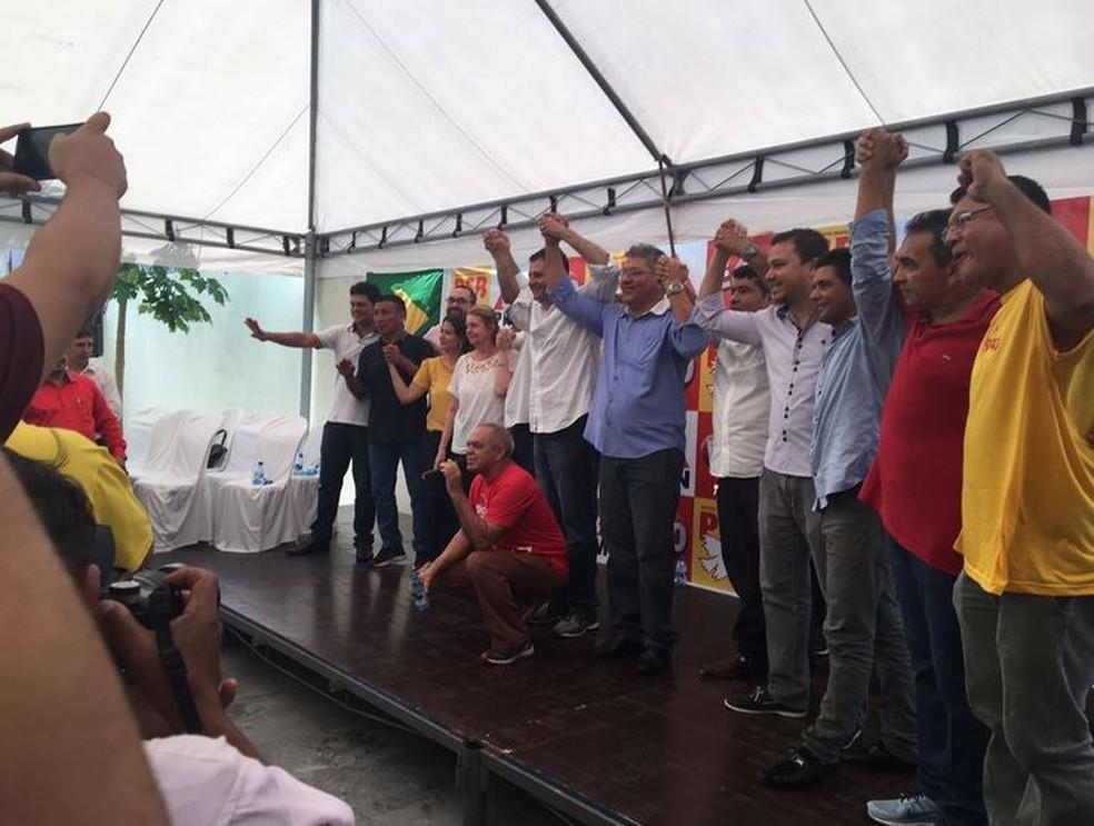Marcelo Serafim e Sirlan Cohen serão candidatos ao governo do Amazonas (Foto: Samira Benoliel/ Rede Amazônica )