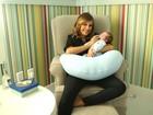 Luisa Mell mostra quarto do bebê e cantinhos preferidos de sua cobertura