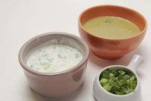 'Cozinheiros em Ação' - Sopa de agrião e coalhada árabe