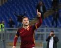 Totti entra aos 41 do 2º tempo, faz dois e garante virada do Roma sobre Torino