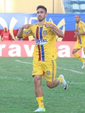 Rodrigo Pinho gol madureira (Foto: Divulgação/Madureira)
