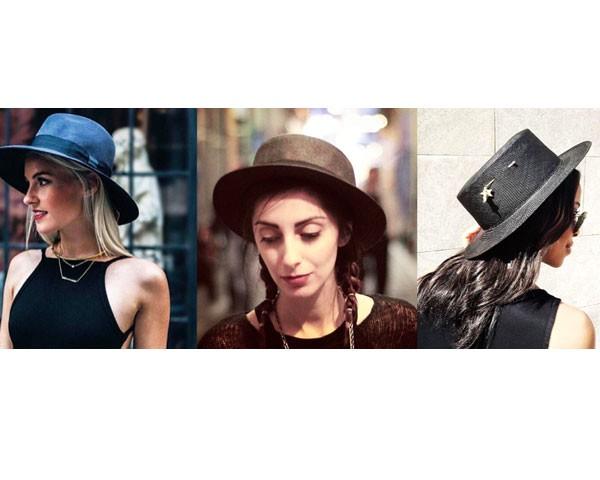 Atenção para a sua silhueta antes de escolher o chapéu (Foto: Instagram)