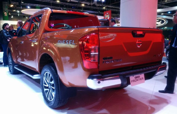 Nissan apresenta nova Frontier (Foto: Autoesporte)