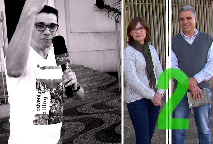 Marcão encontrou dois historiadores para falar sobre o assunto (Foto: Reprodução / TV TEM)
