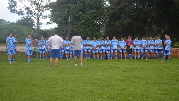Ji-Paraná inicia semana de treinos e Lanza promete mais novidades no elenco (Foto: Gustavo Rebouças)
