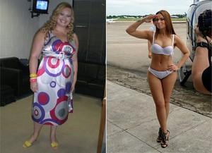 Solange Almeida: antes e depois (Foto: Divulgação)