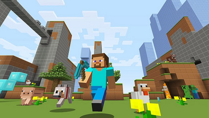 Minecraft chegará ao Xbox One e ao PlayStation 4 essa semana. (Foto: Divulgação)