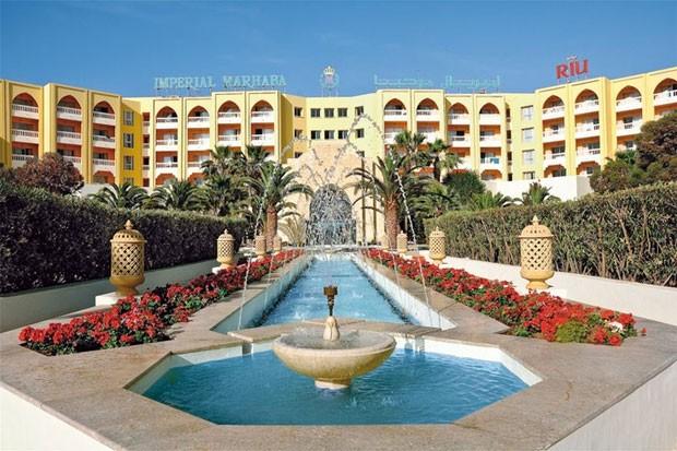 O hotel Imperial Marhaba em Sousse, na Tunísia (Foto: Reprodução/Pinterest/Riu Hotels and Resorts)