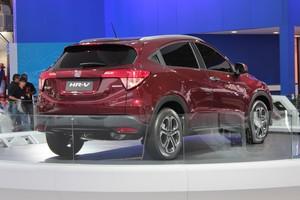 Honda HR-V no Salão do Automóvel 2014 (Foto: Gustavo Maffei/Autoesporte)