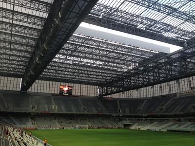 arena da baixada teto retrátil atlético-pr (Foto: Fernando Freire)