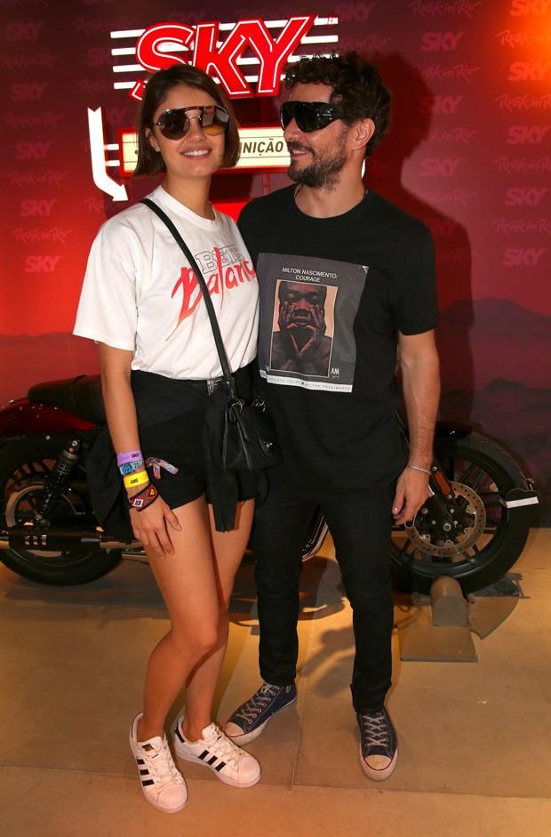 Daniel de Oliveira e Sophie Charlotte (Foto: Anderson Borde e Denilson Santos/AgNews)