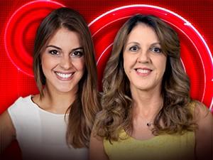 Ivone e sua filhota Angela (Foto: BBB / TV Globo)