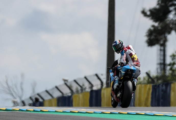 Márquez superou o rival Morbidelli no primeiro dia em Le Mans (Foto: Reprodução/Twitter)