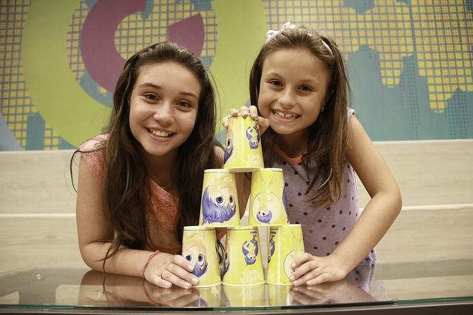 Pérola e Rafa Gomes The Voice Kids (Foto: Guilherme Artigas/ RPC)
