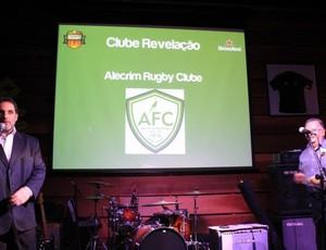 Alecrim Rugby recebe premiação da Confederação Brasileira (Foto: Divulgação/Alecrim Rugby)