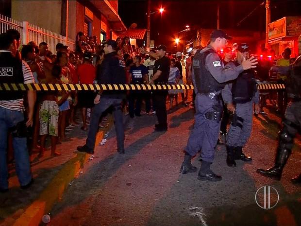 Hebert da Silva Cardoso, de 32 anos, foi morto na frente de uma igreja no bairro de Mãe Luíza, em Natal (Foto: Reprodução/Inter TV Cabugi)