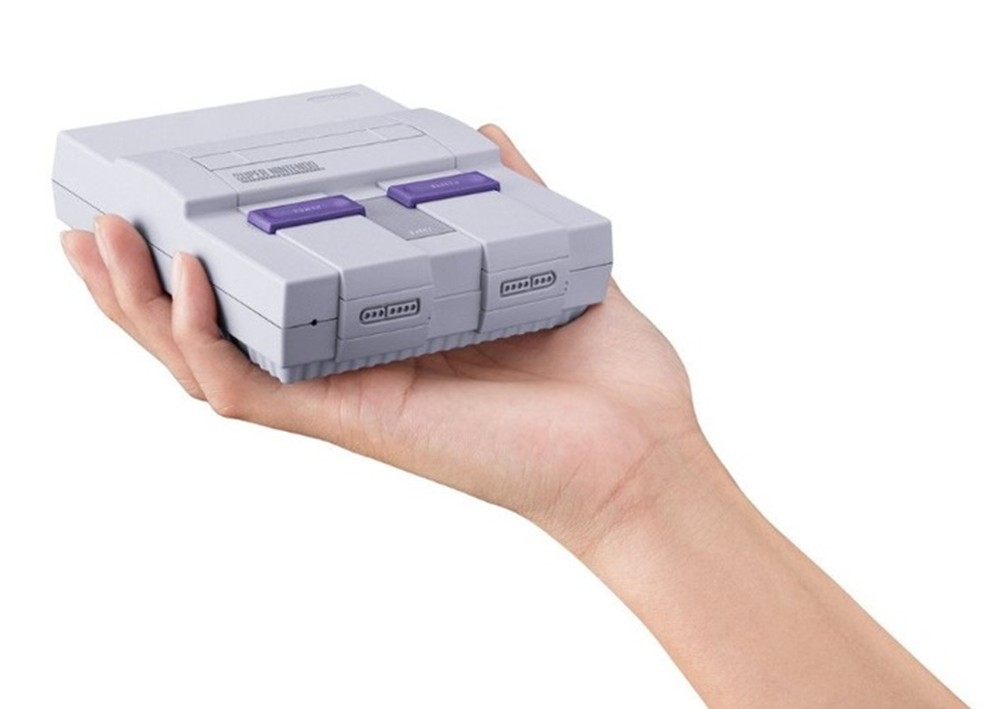 SNES Classic chega em setembro com 21 jogos na memória (Foto: Divulgação/Nintendo)