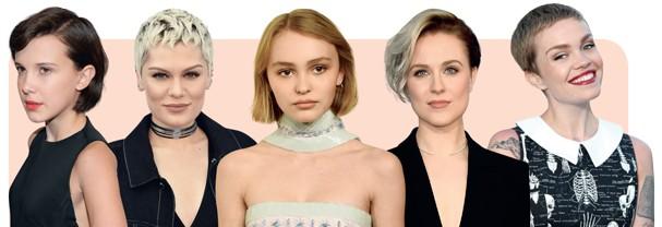 As celebs que são referência do short hair (Foto: DIVULGAÇÃO)