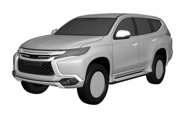 Vazam imagens de patente do novo Mitsubishi Pajero Dakar (Foto: Reprodução)