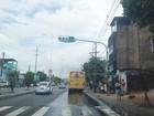 Obras deixam trânsito congestionado no Rio Vermelho, sentido centro