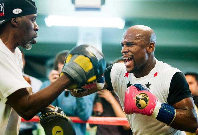 Floyd Mayweather, boxe, Las Vegas, Manny Pacquiao (Foto: Divulgação/The Money Team)