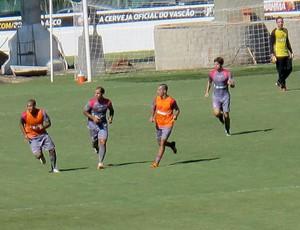 jogadores do Vasco no treino (Foto: Thiago Fernandes / Globoesporte.com)