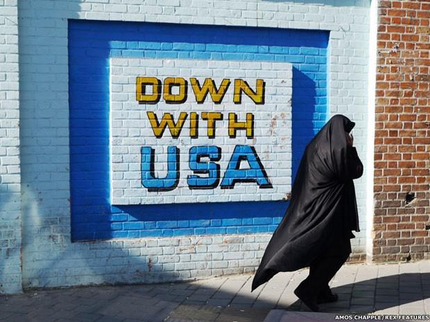 Por dentro do Irã (Foto: Ammo Chappel/Rex Features)