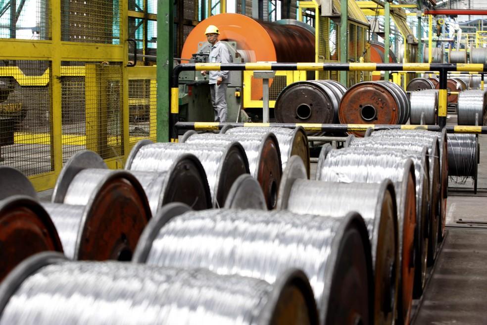 Produção industrial gaúcha cai 1,2% em março ante fevereiro