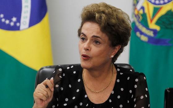 Presidente Dilma Rousseff (Foto: Givaldo Barbosa)