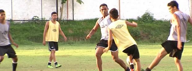 Mixto mantém rotina de treinos na véspera do julgamento no TJD (Foto: Reprodução/TVCA)