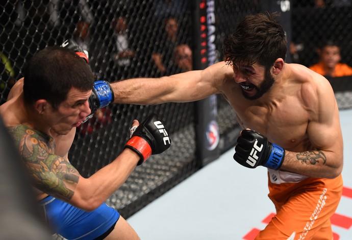 Polo Reyes Cesar Arzamendia UFC Monterrey (Foto: Getty Images)