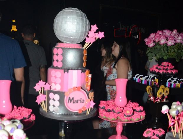 Festa da filha de Tom Cavalcante (Foto: Eduardo Martins / AGNEWS)