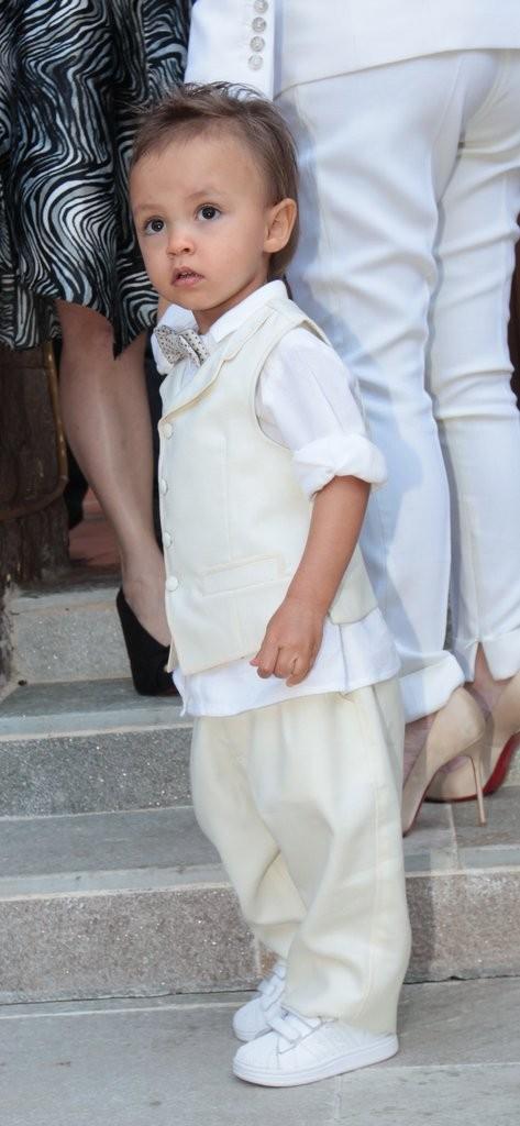 Arthur, filho de Eliana (Foto: Leo Franco / AgNews)