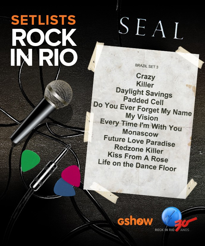 Setlist Seal (Foto: Gshow)