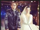 Naldo e Mulher Moraguinho se casam no Rio