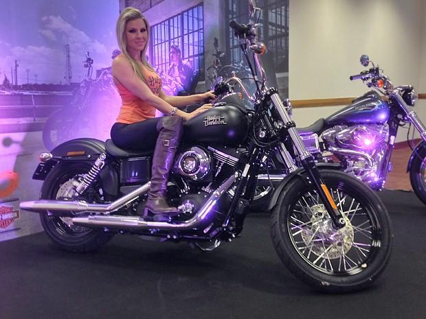 Harley-Davidson Street Bob (Foto: Rafael Miotto/G1)