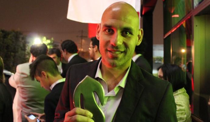 Trofeu Globo Minas - Bruno Rodrigo (Foto: Maurício Paulucci)