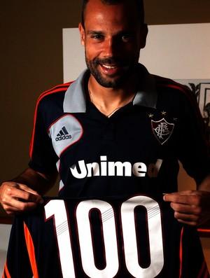 diego cavalieri fluminense 100 jogos (Foto: Nelson Perez/FluminenseF.C.)