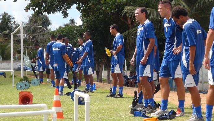 Treino CSA (Foto: Viviane Leão/GloboEsporte.com)