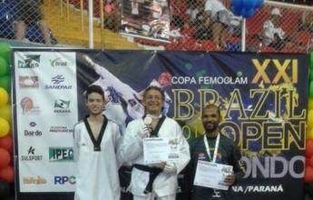 Amapaense conquista ouro e bronze em Open de Taekwondo no Paraná